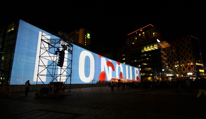 Media City Projection 10