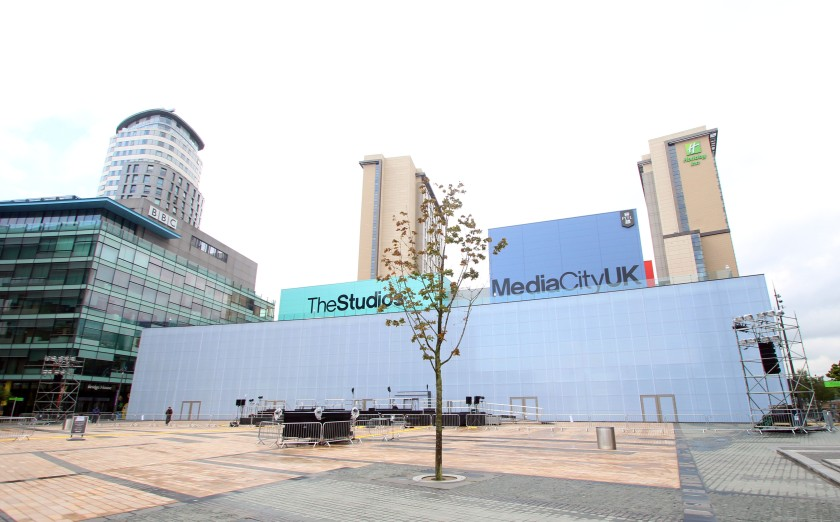 Media City Projection 6