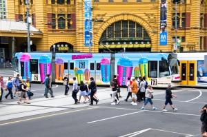 7 Eleven Tram, wrap artist winner