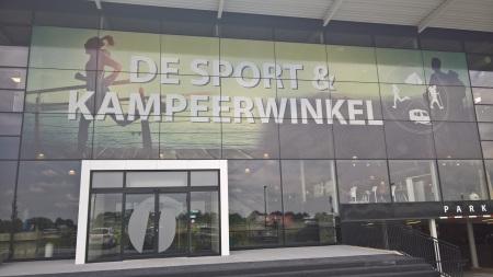 Contra Vision Facade at Van Duinkerken Sport & Kamperen