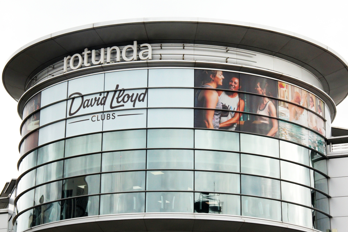 David Lloyd - Contra Vision Backlite on the Rotunda