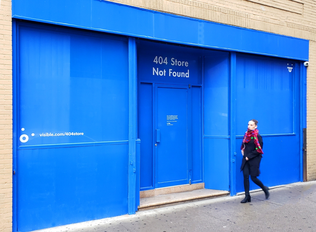 404 Store Not Found…