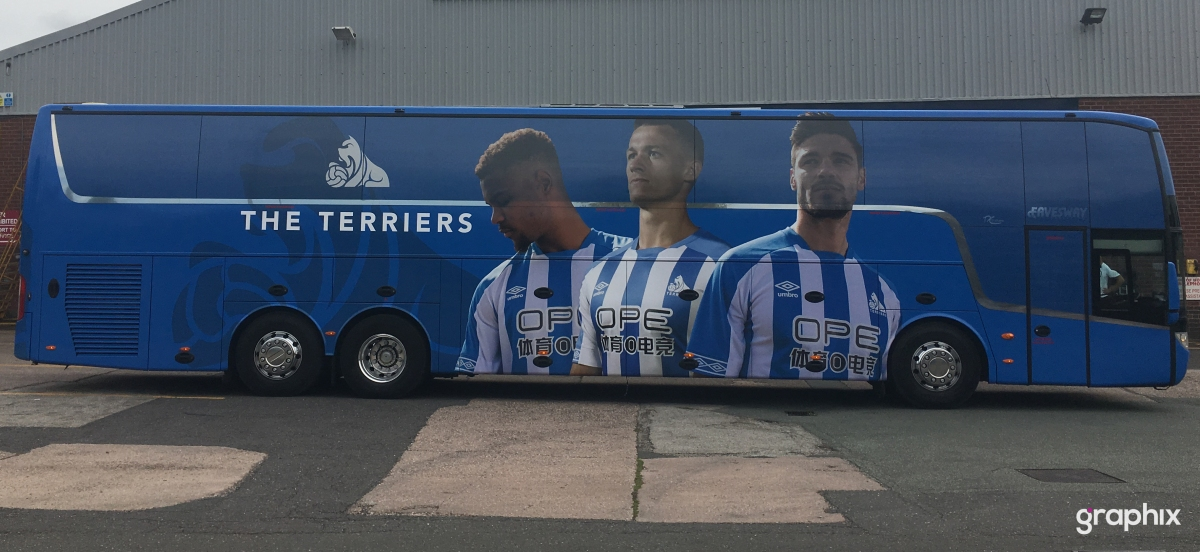 Huddersfield Terriers Team Coach Wrap